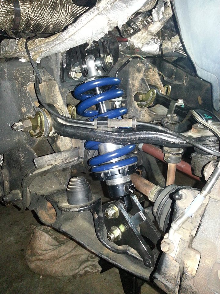 99-07 GM Torsion Bar to Coilover Brackets