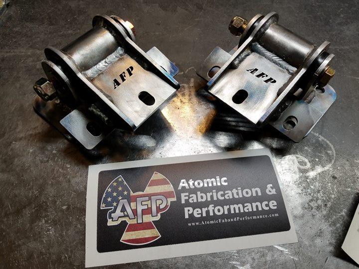 07-14 GMT900 POLY Motor Mounts - Atomic F&P